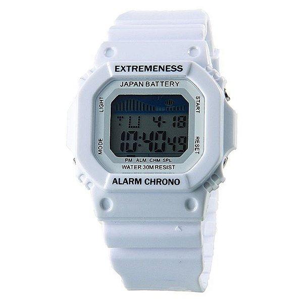 Relógio Masculino Skmei Digital 6918 Branco