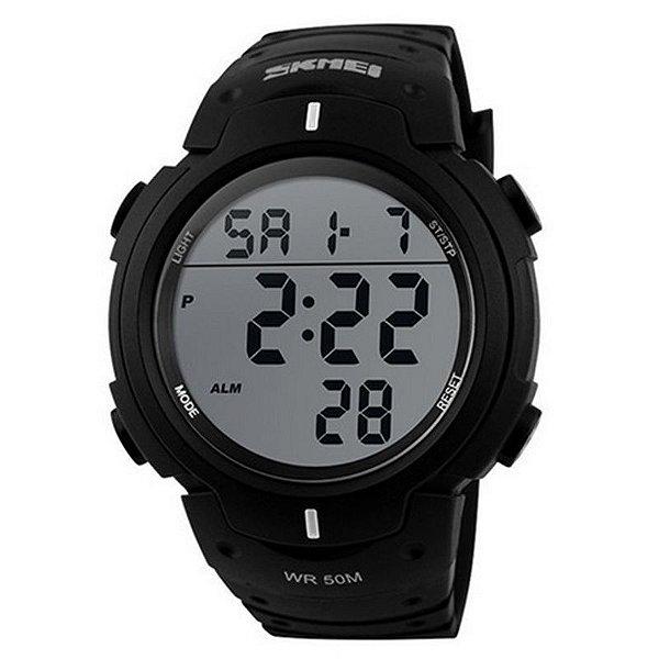 Relógio Masculino Skmei Digital 1068 Preto