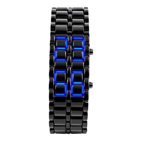 Relógio Masculino Skmei Digital 8061G Preto e Azul