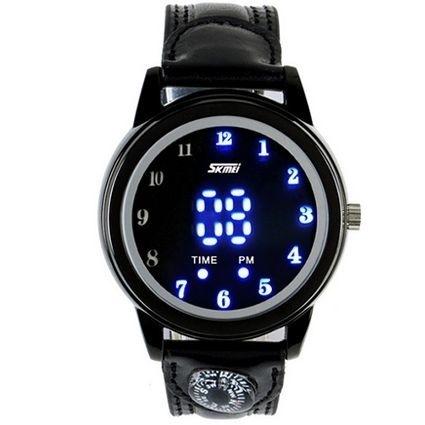 Relógio Masculino Skmei Digital 0921 Preto e Azul