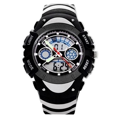 Relógio Masculino Skmei Anadigi  0922 Preto e Cinza