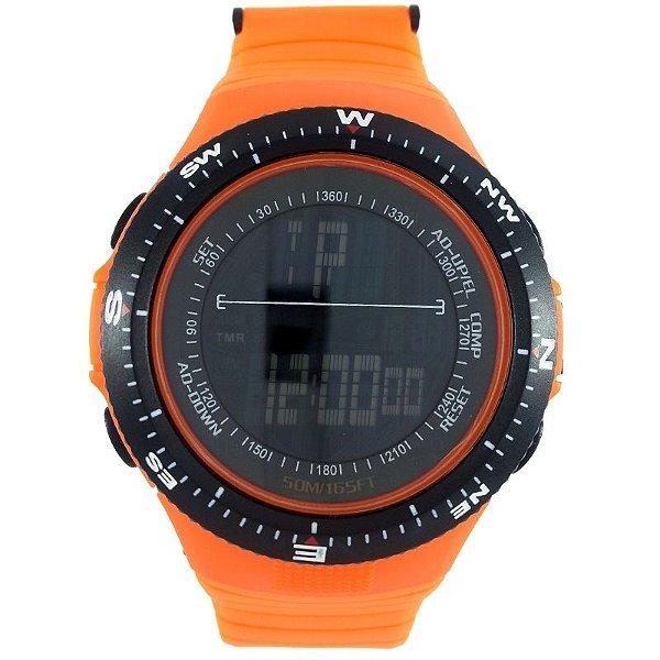 Relógio Masculino Skmei Digital 0989 Laranja
