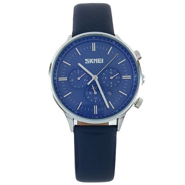 Relógio Skmei Analógico 9117 Azul