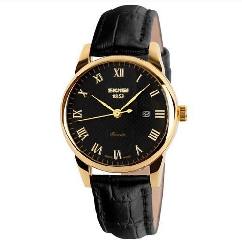 Relógio Feminino Skmei Analógico 9058-P Preto