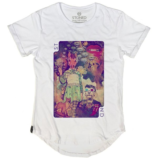 Camiseta Longline Parallel Universe