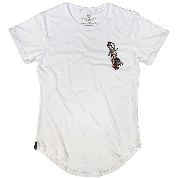 Camiseta Longline Panther Knife