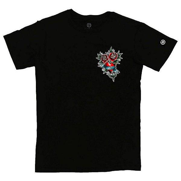 Camiseta Masculina Flower Up