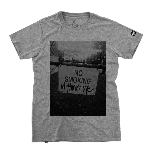 Camiseta Masculina No Smoking
