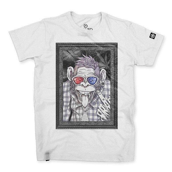 Camiseta Masculina Punk Monkey