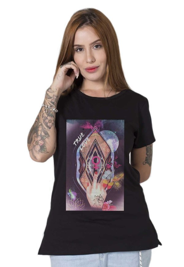 Camiseta Feminina True Power