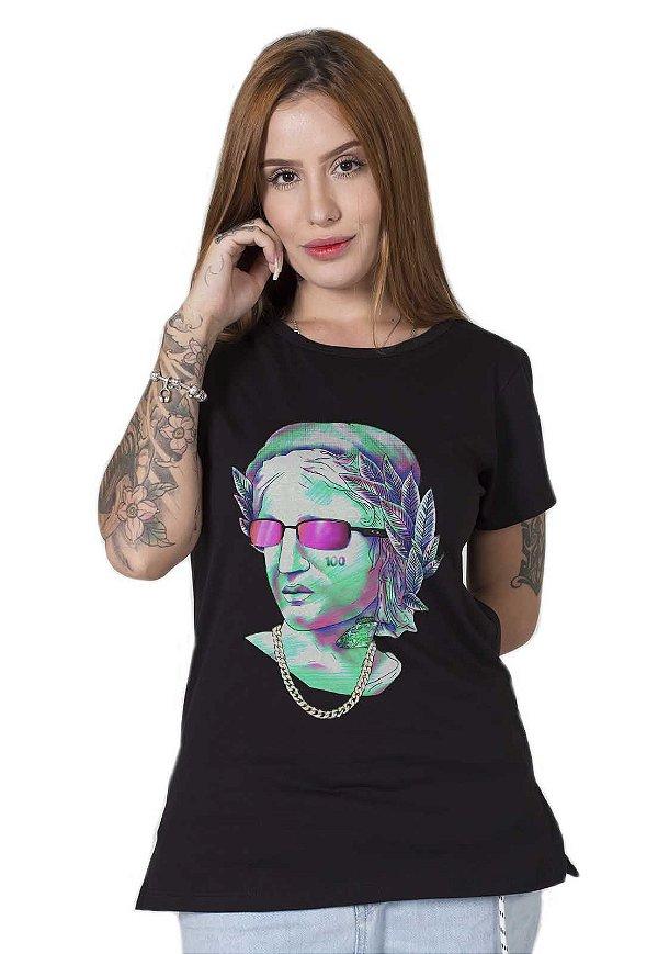 Camiseta Feminina Hundred Draw