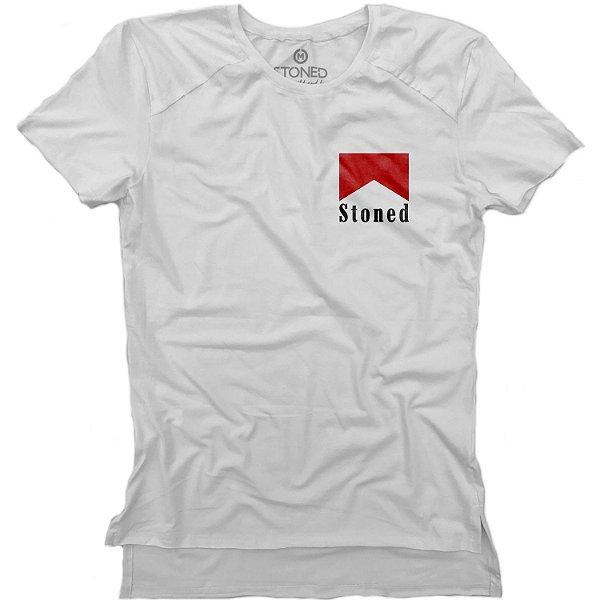 Camiseta Longline Gold Marlboro Stoned