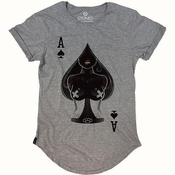 Camiseta Longline Ace of Spades