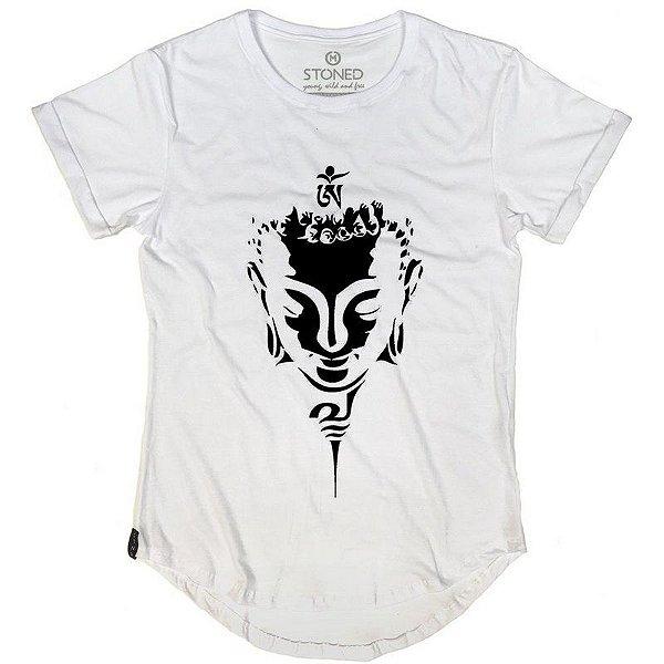 Camiseta Longline Face Buda