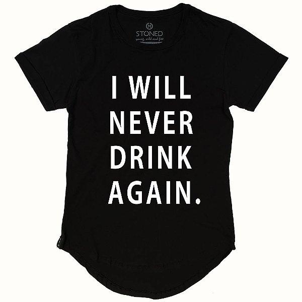 Camiseta Longline Hangover