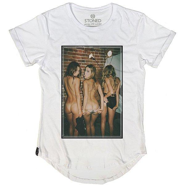 Camiseta Longline Stoned Girls
