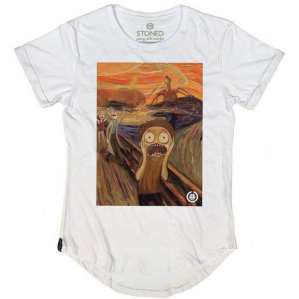 Camiseta Longline O Grito Morty