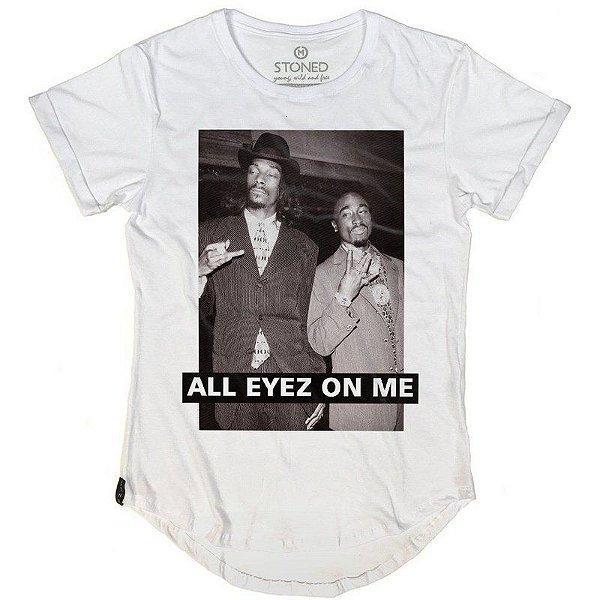 Camiseta Longline All Eyez on Me