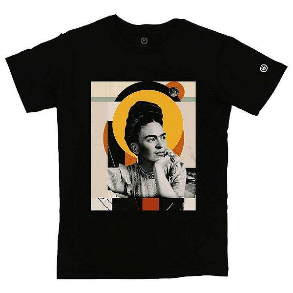 Camiseta Masculina Frida Art