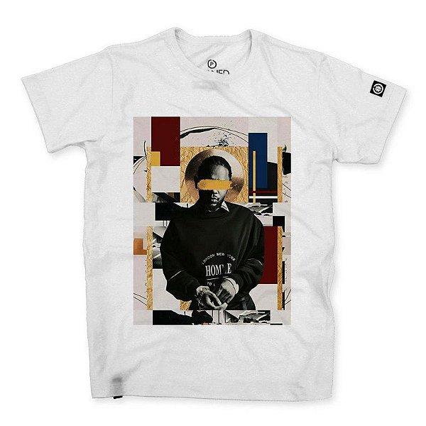 Camiseta Masculina Kendrick Lamar Abstract