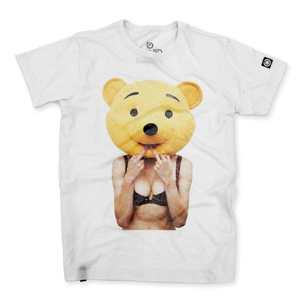 Camiseta Masculina Pooh