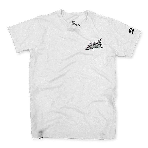 Camiseta Masculina Space Shuttle Future