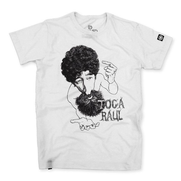Camiseta Masculina Toca Raul