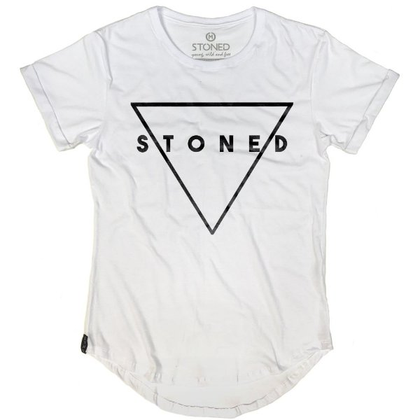 Camiseta Longline Triangle