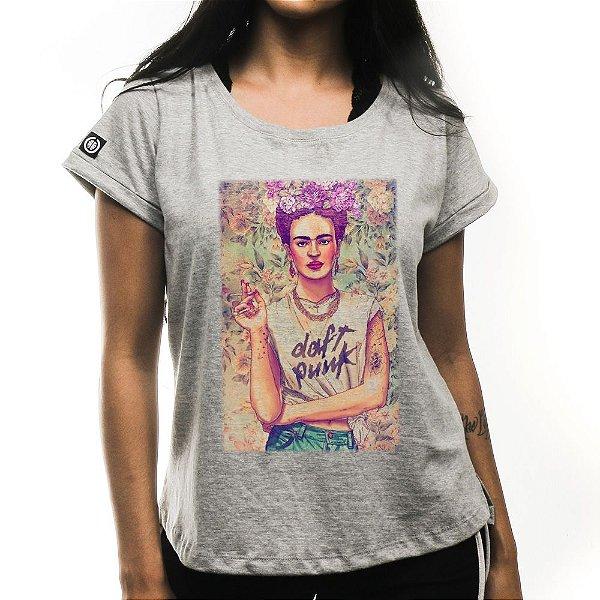 Camiseta Feminina Vintage Frida