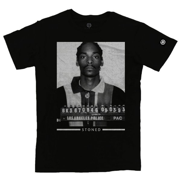 Camiseta Masculina Snoop Dogg Busted