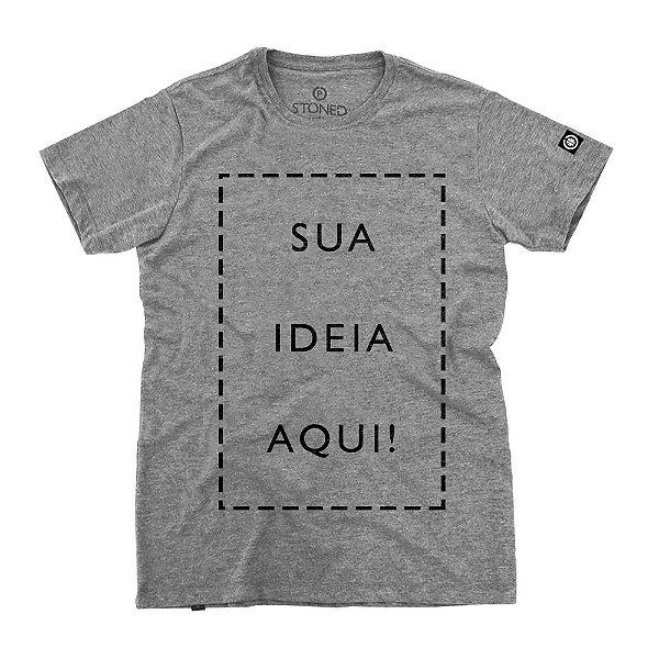 Camiseta Masculina Personalizada
