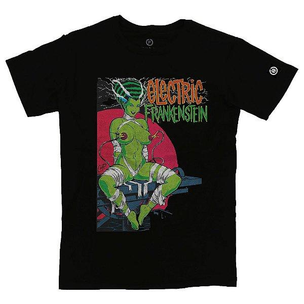 Camiseta Masculina Electric Frankenstein