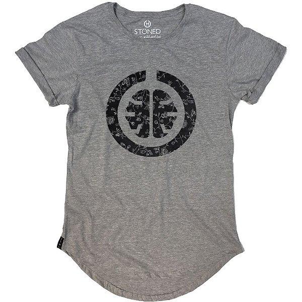 Camiseta Longline Signature Black