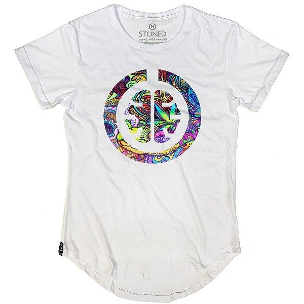 Camiseta Longline Grafite