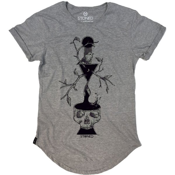 Camiseta Longline Dark Branches