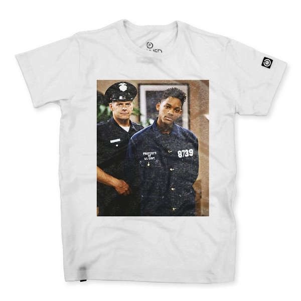Camiseta Masculina Will Smith Busted