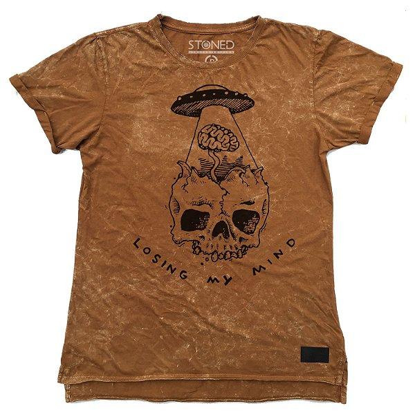 Camiseta Longline Estonada Losing My Mind