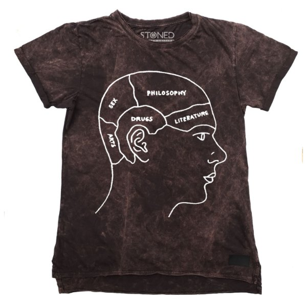 Camiseta Longline Estonada Head