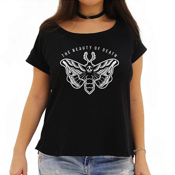 Camiseta Feminina Beauty of Death