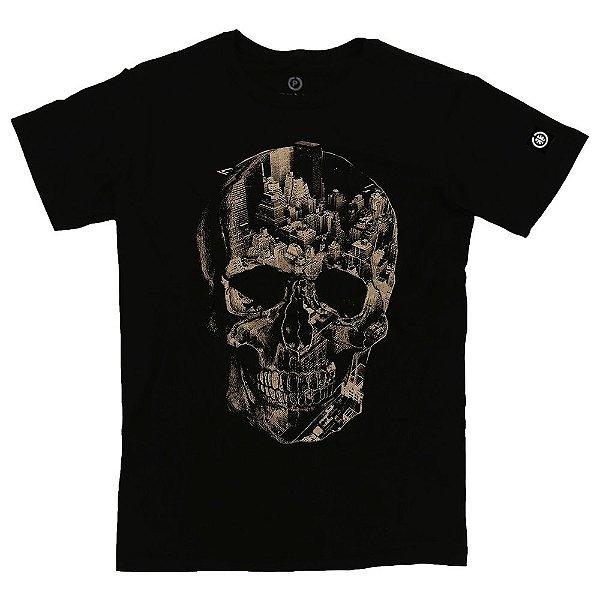 Camiseta Masculina Dark City