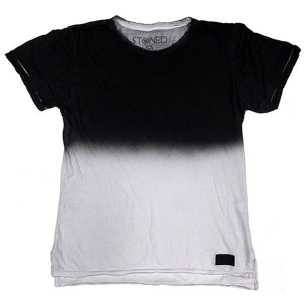 Camiseta Longline Gradient