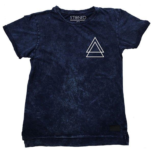 Camiseta Longline Estonada Triple Triangle