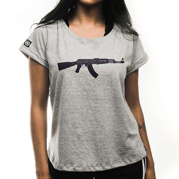 Camiseta Feminina AK47