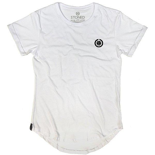 Camiseta Longline Basic Branca