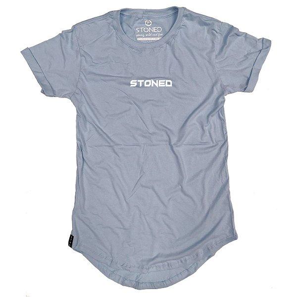 Camiseta Longline Pump Azul