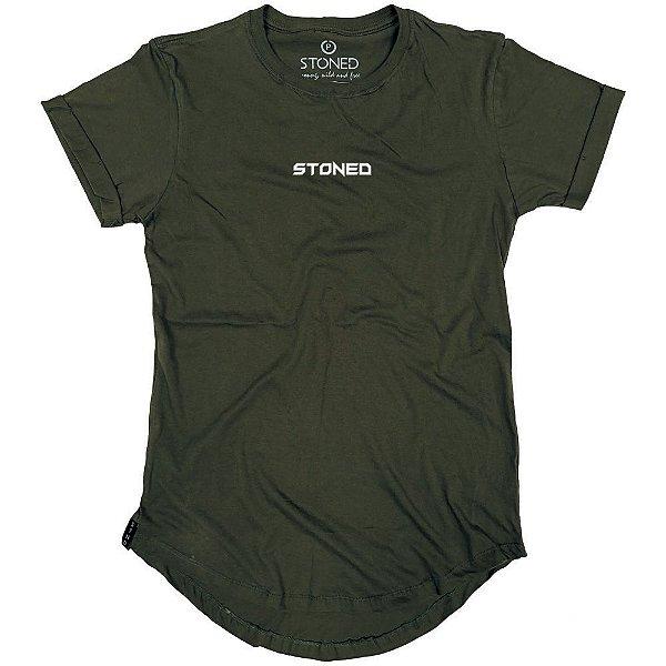 Camiseta Longline Pump Verde