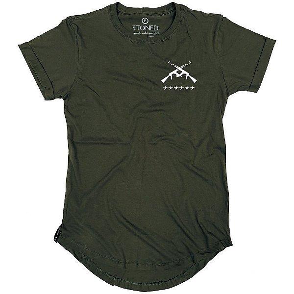 Camiseta Longline Gun
