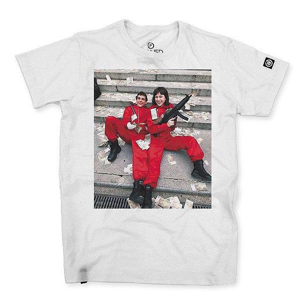 Camiseta la casa de papel tokio and rio stoned shop - Estampar camisetas en casa ...