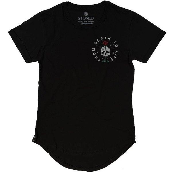 Camiseta Longline Death to Life