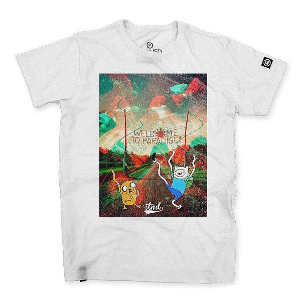 Camiseta Masculina Welcome to Paradise